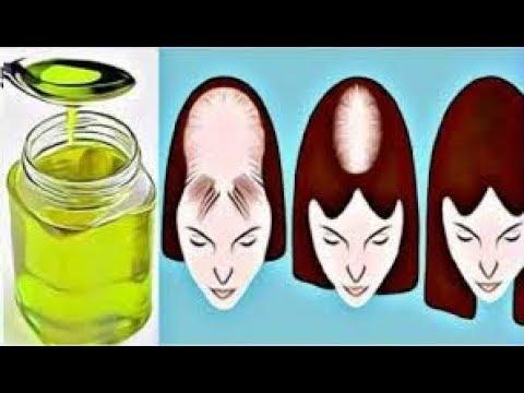 Calvicie, Aceites para la alopecia y caída del cabello.